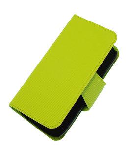 Groen Hoesje voor Samsung Galaxy S3 I9300 cover case booktype Ultra Book