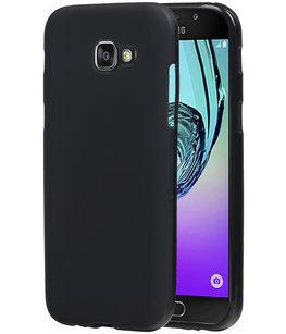 Hoesje voor Samsung Galaxy A5 2017 TPU back case Zwart