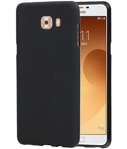 Hoesje voor Samsung Galaxy C9 Pro TPU back case Zwart