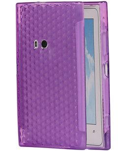 Hoesje voor Nokia Lumia 920 Diamant TPU back case Paars