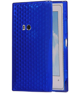 Hoesje voor Nokia Lumia 920 Diamant TPU back case Donker Blauw