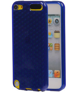 Hoesje voor Apple iPod Touch 5 / 6 Diamant TPU back case Donker Blauw