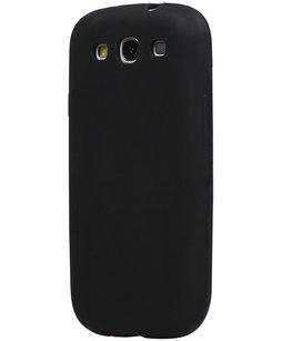 Hoesje voor Samsung Galaxy Grand Neo i9082 / i9060 TPU back case Zwart