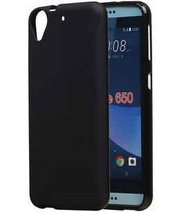 Hoesje voor HTC Desire 650 TPU back case Zwart