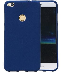 Blauw Zand TPU back case cover voor Hoesje voor Huawei P8 Lite 2017 / P9 Lite 2017