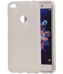 Hoesje voor Huawei P8 Lite 2017 / P9 Lite 2017 TPU back case transparant Wit
