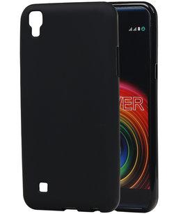 Hoesje voor LG X Power K220 TPU back case Zwart