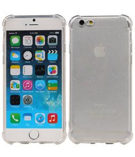 Transparant TPU Schokbestendig bumper case Hoesje voor Apple iPhone 6 / 6s