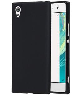 Hoesje voor Sony Xperia XA1 TPU back case Zwart