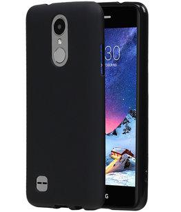 Hoesje voor LG K8 2017 TPU back case Zwart
