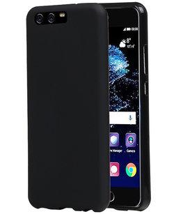 Hoesje voor Huawei P10 Plus TPU back case Zwart