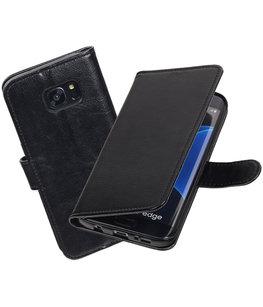 Zwart Portemonnee booktype Hoesje voor Samsung Galaxy S7 Edge G935F