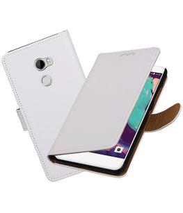 Hoesje voor HTC One X10 Effen booktype Wit