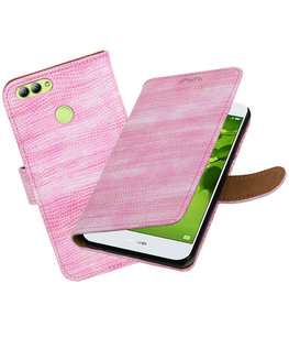 Hoesje voor Huawei nova 2 Mini Slang booktype Roze