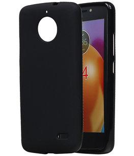 Hoesje voor Motorola Moto E4 TPU back case Zwart