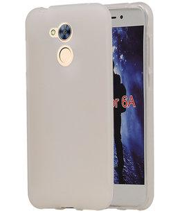 Hoesje voor Huawei Honor 6A TPU back case Wit