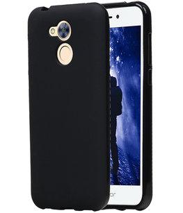 Hoesje voor Huawei Honor 6A TPU back case Zwart