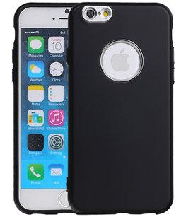 Hoesje voor Apple iPhone 7 / 8 Design TPU back case Zwart