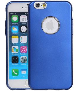 Hoesje voor Apple iPhone 7 / 8 Design TPU back case Blauw