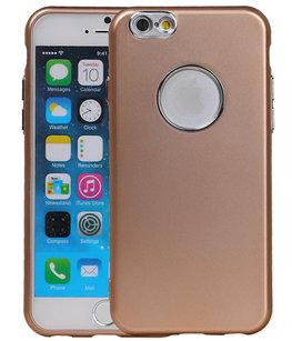 Hoesje voor Apple iPhone 7 / 8 Design TPU back case Goud