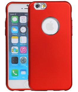 Hoesje voor Apple iPhone 7 / 8 Design TPU back case Rood