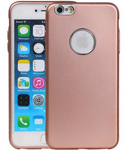 Hoesje voor Apple iPhone 6 Plus / 6s Plus Design TPU back case Roze