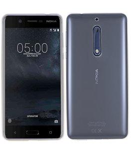 Hoesje voor Nokia 5 Smartphone Cover Transparant