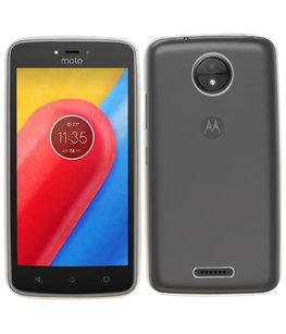 Hoesje voor Motorola Moto C Smartphone Cover Transparant