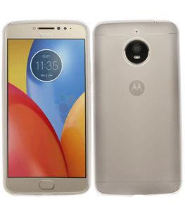 Hoesje voor Motorola Moto E4 Plus Smartphone Cover Transparant