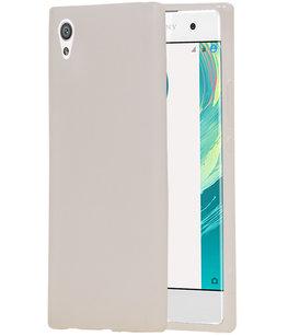 Hoesje voor Sony Xperia XZ1 Design TPU back case Wit