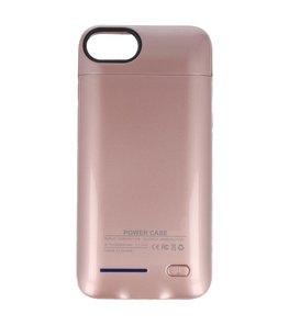 Roze smart batterij Hoesje voor Apple iPhone 6 Plus / 6s Plus en iPhone 7 Plus en iPhone 8 Plus