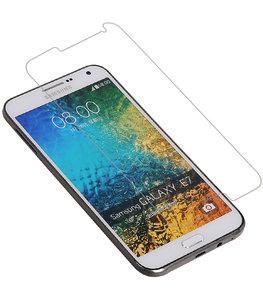 Samsung Galaxy E7 Tempered Glass - Glazen Screen Protector