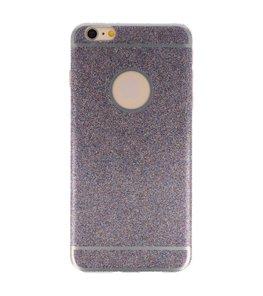 Hoesje voor Apple iPhone 6 / 6s Plus Bling TPU back case Paars
