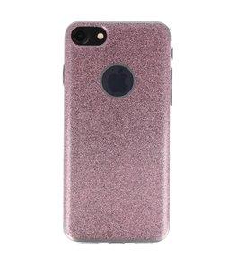Hoesje voor Apple iPhone 7 / 8 Bling TPU back case Roze