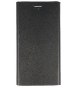 Zwart Folio flipbook Hoesje voor Apple iPhone 6 Plus / 6s Plus