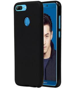 Zwart TPU back case cover Hoesje voor Huawei Honor 9 Lite