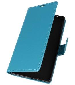 Turquoise Wallet Case Hoesje voor Sony Xperia L2