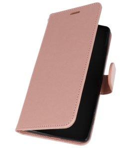 Roze Wallet Case Hoesje voor Sony Xperia XZ2