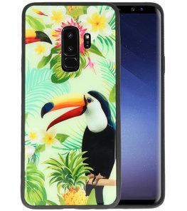 Toekan Tropisch Hardcase Cover Hoesje voor Samsung Galaxy S9 Plus