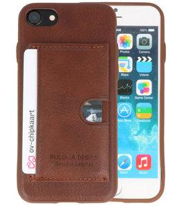 Bruin Hardcase cover Hoesje voor Apple iPhone 7 / 8