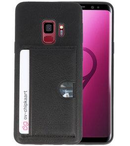 Zwart Hardcase cover Hoesje voor Samsung Galaxy S9