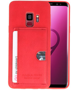 Rood Hardcase cover Hoesje voor Samsung Galaxy S9