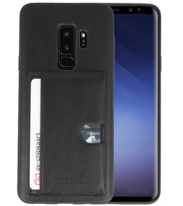 Zwart Hardcase cover Hoesje voor Samsung Galaxy S9 Plus