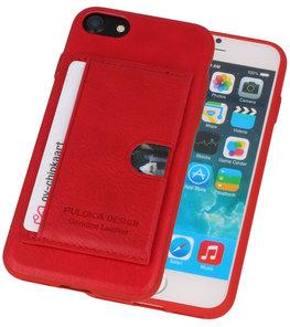 Rood Hardcase cover Hoesje voor Apple iPhone 7 / 8