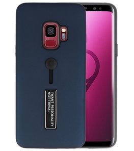 Navy Stand Case hoesje voor Samsung Galaxy S9