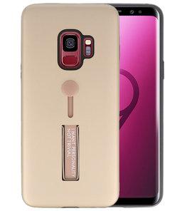 Goud Stand Case hoesje voor Samsung Galaxy S9