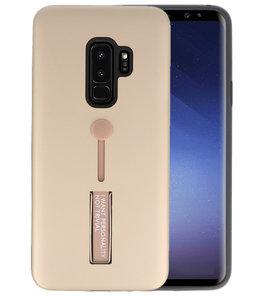 Goud Stand Case hoesje voor Samsung Galaxy S9 Plus
