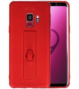 Rood Carbon serie Zacht Case hoesje voor Samsung Galaxy S9