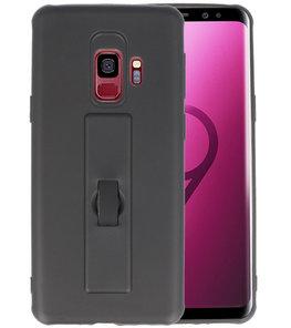Zwart Carbon serie Zacht Case hoesje voor Samsung Galaxy S9