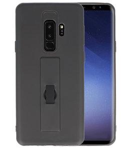Zwart Carbon serie Zacht Case hoesje voor Samsung Galaxy S9 Plus